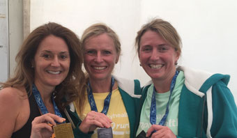 "Monica Completes the ""Simplyhealth Great South Run"""